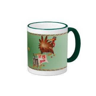 Out Of Order Thanksgiving Mug