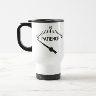 Out of Patience Gas Gauge Coffee Mugs