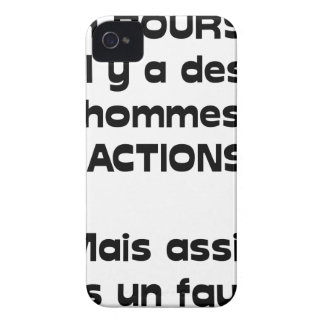 Out of PURSE there are men of action, but sitted iPhone 4 Case-Mate Case