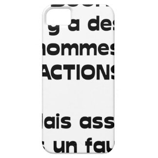 Out of PURSE there are men of action, but sitted iPhone SE/5/5s Case
