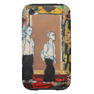 Out of school (mama's dress II) by J. Kabinda Tough iPhone 3 Cover
