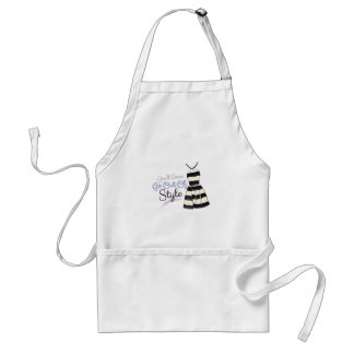Out Of Style Adult Apron