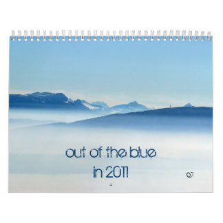 out of the blue in 2011 calendar