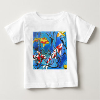 """""""Out Of The Blue"""" Koi Fish Art Painting! Baby T-Shirt"""