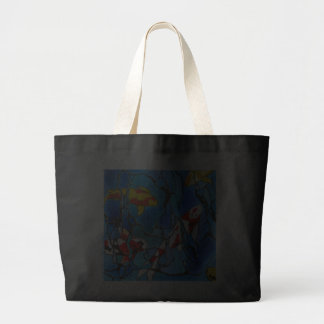 """""""Out Of The Blue"""" Koi Fish Art Painting! Tote Bag"""