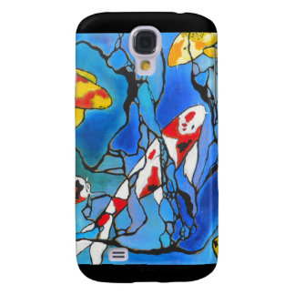 """""""Out Of The Blue"""" Koi Fish Art Painting! Samsung Galaxy S4 Covers"""