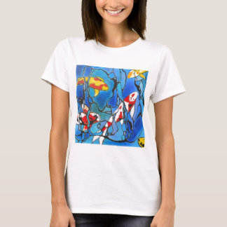 """Out Of The Blue"" Koi Fish Art Painting! T-Shirt"