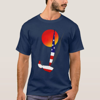 Out of the blue US Sailing Regatta sailors Tees