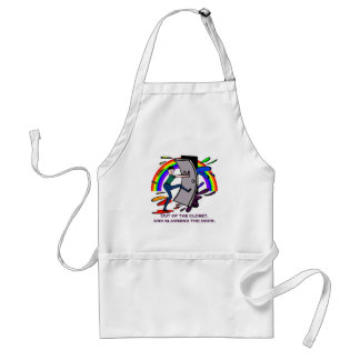 Out of the Closet, and Slamming the Door! Adult Apron