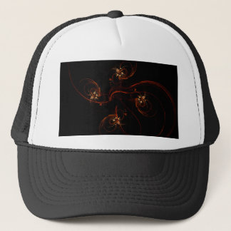 Out of the Dark Abstract Art Hat
