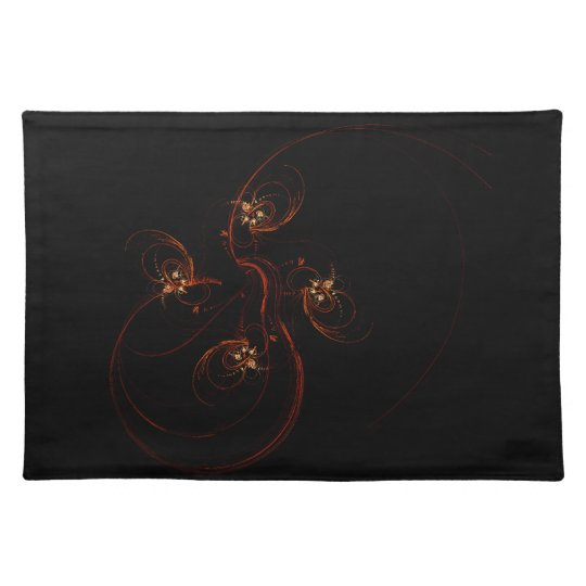 Out of the Dark Abstract Art Placemat
