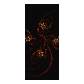 Out of the Dark Abstract Art Rack Card