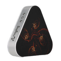 Out of the Dark Abstract Art Speaker