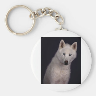 Out of the darkness basic round button keychain