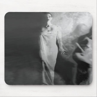 Out of the Fog - Self Portrait Mousepads