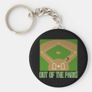 Out Of The Park Keychain