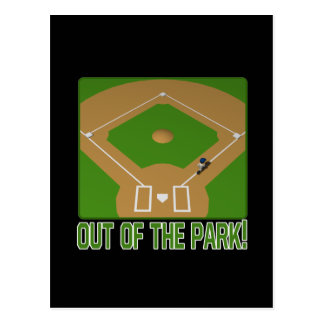 Out Of The Park Postcard