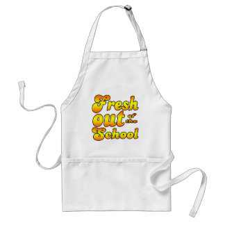 Out of the School Adult Apron