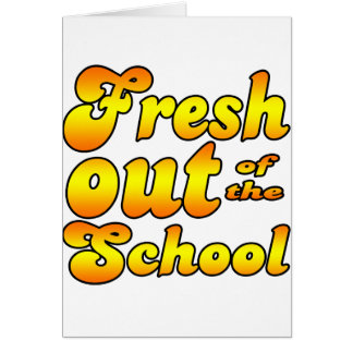 Out of the School Card
