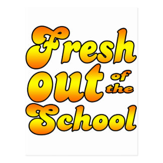 Out of the School Postcard