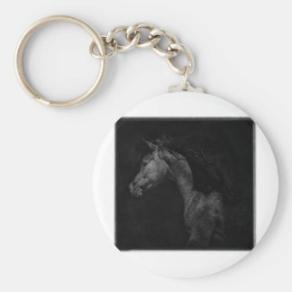 Out of the shadows basic round button keychain