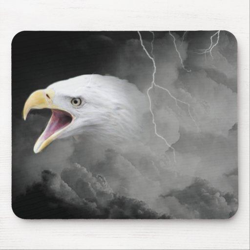 Out of the storm mouse pad