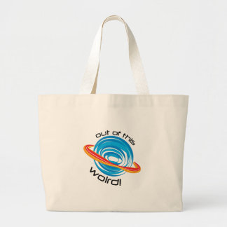 Out Of This Wolrd Jumbo Tote Bag
