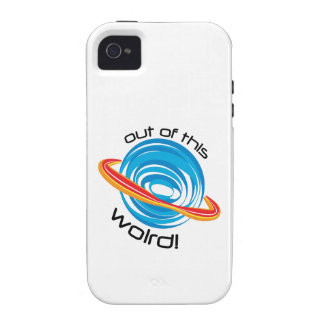 Out Of This Wolrd Vibe iPhone 4 Cover