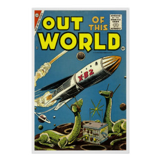 Out of This World 1 1956 Print
