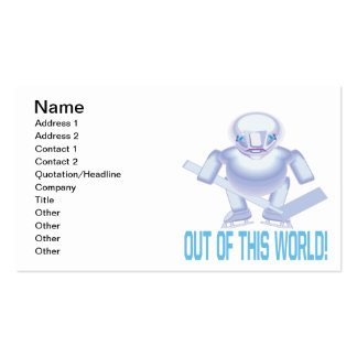 Out Of This World Business Card
