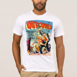 OUT OF THIS WORLD Cool Vintage Comic Book Cover T-Shirt