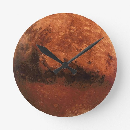"""Out of this world"" Full Mars Clock"