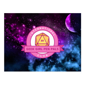 """Out of this World"" IGGPPC Logo Postcard"
