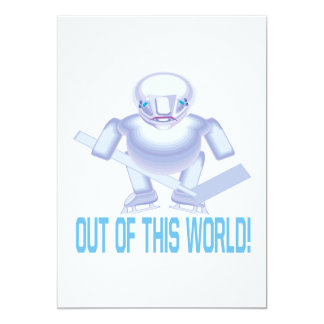 "Out Of This World 5"" X 7"" Invitation Card"