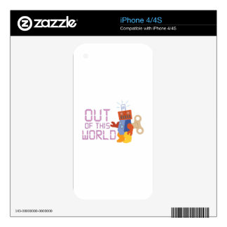 Out of This World iPhone 4 Decal