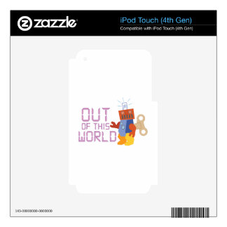 Out of This World iPod Touch 4G Skins
