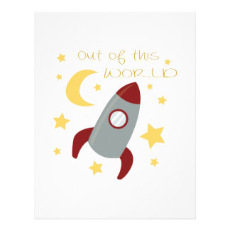 Out of this World Letterhead Template