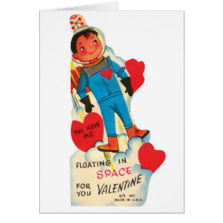 Out of This World Love Greeting Card