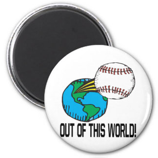 Out Of This World Fridge Magnet