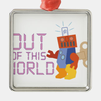 Out of This World Metal Ornament