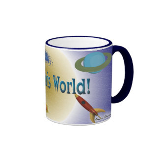Out of this World! Ringer Coffee Mug