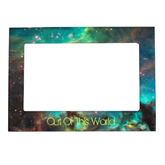 Out Of This World NEBULA Photo Frame Magnet