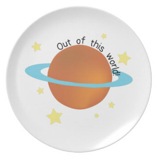 Out of this World Party Plates