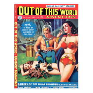 Out of This World Postcard