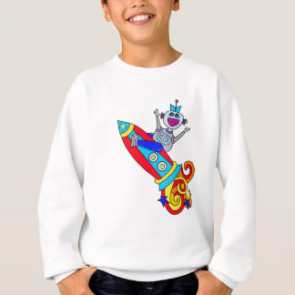 Out of this World Robot Sweatshirt