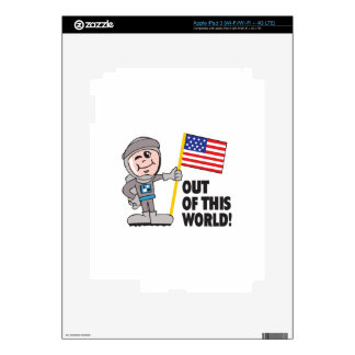 OUT OF THIS WORLD iPad 3 SKINS