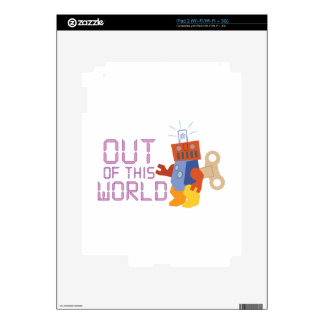 Out of This World Skin For iPad 2