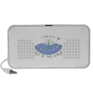 Out Of This World Travel Speakers