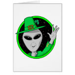 Out of this World St. Patrick's Day Card