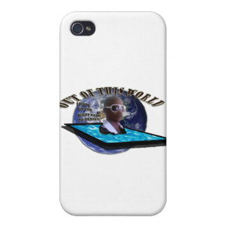OUT OF THIS WORLD TEMPLATE iPhone 4/4S CASE